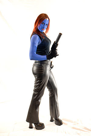Haru Peluso of Cranston, R.I., dressed as Mystique from the X-Men. (Hope the face paint is washable!) More info on the Back Bay Events Center SUBMIT Your nightlife photos! TALK What scene should we visit next?