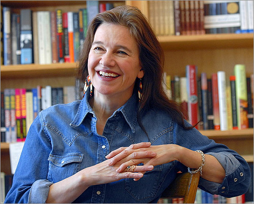 Acclaimed fiction author Louise Erdrich will deliver the main commencement address to her alma mater, Dartmouth College, on June 14. Erdrich often uses her Native American heritage as the basis for her novels. She was named a finalist in 2009 for the Pulitzer Prize in Fiction for her novel 'Plague of Doves.'