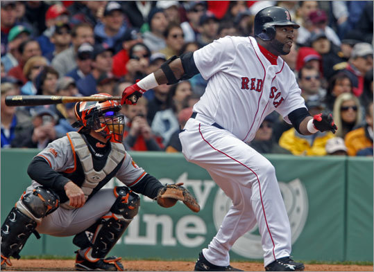 A Patriots Day win was the perfect cap to a four-game series sweep for the Sox, who ran a marathon of their own around the bases at Fenway. Even the struggling Ortiz was in fine form, bashing a double off the Green Monster as well as a triple. The Sox put up 15 hits against Baltimore, scoring six runs in the seventh inning before sending the Orioles packing.
