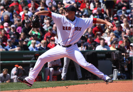 The Sox got seven shutout innings from lefthander Jon Lester, who proved his 0-2 start was just a fluke. After starting the series with a 3-6 record, one starting pitcher suspended, and another on the disabled list, the Sox got to .500 with the help of Lester's performance.