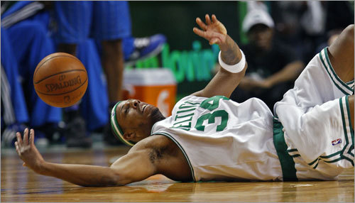 As the second round of the playoffs began Monday night, Paul Pierce and the Celtics were a little flat -- literally and figuratively -- as they lost the home-court advantage to Orlando.