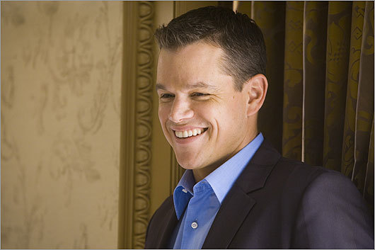 Law enforcement officials searched the criminal records system about celebrities including Matt Damon.