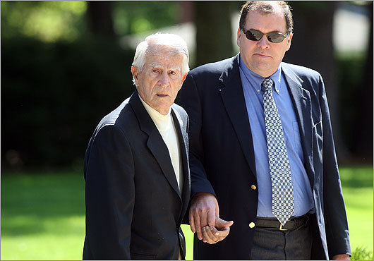 Former Sox teammate Johnny Pesky attended the funeral, accompanied by his son, David. During the funeral, Pesky wiped away tears for his lifelong friend. DiMaggio, Pesky, Bobby Doerr, and Ted Williams were the subjects of a David Halberstam book called 'The Teammates.'