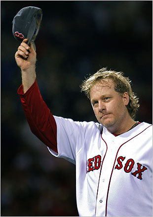 Curt Schilling Schilling required little more than a mid-90s fastball and uncanny control to become one of the premier power pitchers of his time. His best strikeout seasons came before he joined the Sox for the magical 2004 season - he whiffed 319 for the 1997 Phillies and 316 for the '02 Diamondbacks - but he could still put up impressive numbers on the radar gun with the Sox when the moment demanded it.
