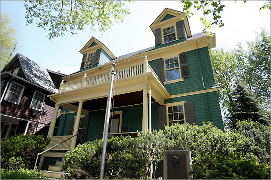 John Fitzgerald Kennedy was born in a modest home on a quiet, tree-lined Brookline street on May 29, 1917. Visitors to the John F. Kennedy National Historic Site can walk through the boyhood home of the 35th president and view a short movie about the Kennedy family. GPS coordinates: Lat: 42.346945 Lon: -71.123242 Closest street address: 83 Beals St., Brookline, Mass.
