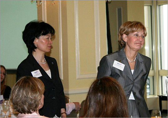 Salute to Nurses Judges Lin Zhan and Dorothy McCabe.