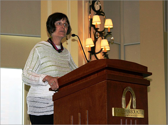 Keynote Speaker Suzanne Gordon.