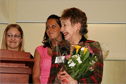 Faculty Honoree Barbara Giguere.