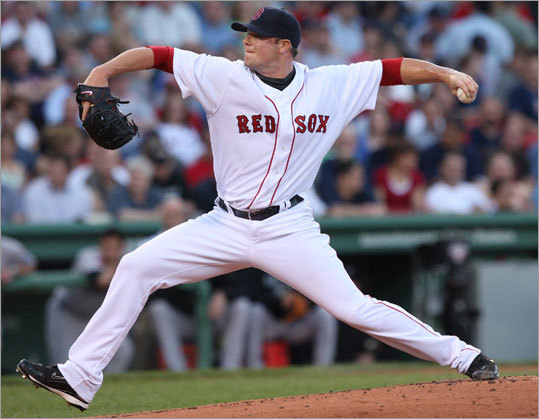 Jon Lester pitched 6 2/3 innings, allowing one run on eight hits as the Red Sox topped the Blue Jays, 5-1, Thursday night at Fenway Park. Stroll through our gallery to see more scenes from the game.