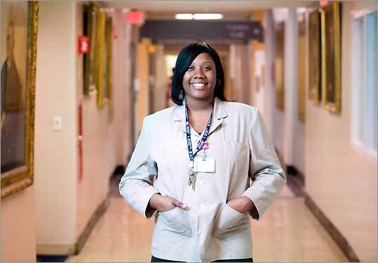 Tishia Reeves enrolled in Bunker Hill Community College 10 years after graduating from high school. The 27-year-old says she is serious about getting a degree while balancing a hospital job -- as long as school expenses can stay manageable.