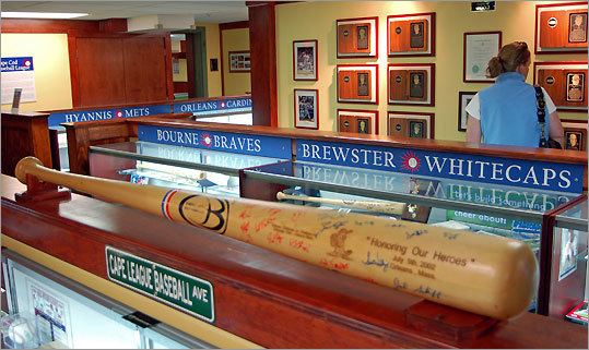 The renowned Cape Cod Baseball League opens its 125th season June 11, but the game is always on at the league's Hall of Fame and Museum, which found a home on the lower level (a.k.a. the Dugout) of the JFK Museum on Main Street in Hyannis late last summer. 397 Main St., Hyannis, 508-790-3077. 9 a.m. to 5 p.m. Monday-Saturday, 12-5 Sunday. Adults $5, ages 10-17 $2.50, 9 and under free. www.capecodbaseball.org , www.jfkhyannismuseum.org .