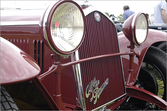 An Alfa Romeo.