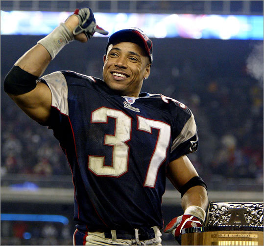 Patriots safety Rodney Harrison announced his retirement on Wednesday after 15 years in the NFL, six of them with New England. Harrison, 36, won two Super Bowls with the Patriots and is a two-time Pro Bowler. As he embarks upon his new career as a broadcaster for NBC Sports, we look back at some of Harrison's memorable and newsworthy moments with New England.