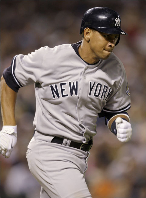 A-Rod has eight home runs and has 23 RBIs in only 28 games in 2009, but he's hitting .255 -- his lowest season average as a regular starter in his career. He hit .355 in eight games at Fenway last season but had no home runs and only 3 RBIs. Defensively, he has two errors at third base this year, but Yankees fans will overlook a passed grounder if he's carrying the team's offense on his shoulders.