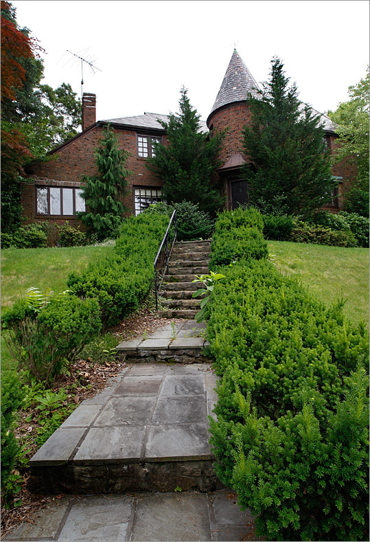 Just a brisk walk from where John Adams lived stands a red brick fortress with its own tower capped by a conical roof and a weather vane. The main entry is through the round tower, giving a circular beginning for a journey through the three-story home with a slate roof. Open House July 5, 1 p.m. to 3 p.m.; Gus Confalone of Century 21 Annex Realty Address: 410 Adams St. Price: $1,049,000 Style: Tudor Built: 1963 Square feet: 3,526 Rooms: 11 Bedrooms: 5 Bathrooms: 4 full, 1 half Sewer: Public