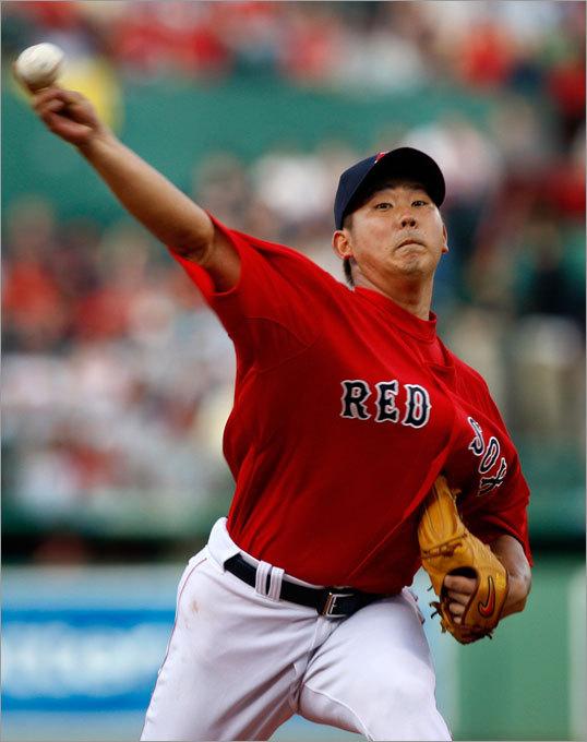 Daisuke Matsuzaka started for the Sox.