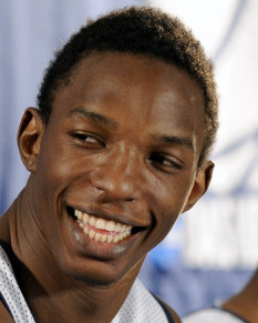 Hasheem Thabeet is grateful for a chance.