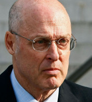 Onetime aides to former Treasury Secretary Henry Paulson (left) are spearheading the public relations effort.