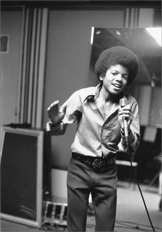 Jackson first won America's heart as a member of the famed singing group The Jackson 5. A 13-year-old Jackson (pictured) was the youngest member of the group that churned out hits such as 'ABC' and 'I Want You Back'.