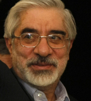 MIR HOSSEIN MOUSAVI The opposition leader wants a new vote but Iran's Guardian Council says it has closed the file on the presidential election.