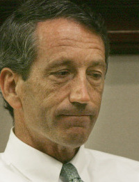 Governor Mark Sanford's affair was revealed late last month.