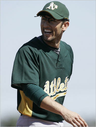 Garciaparra signed a one-year deal with the Oakland Athletics on March 6, 2009. It was the first time he played for an American League team since leaving Boston in 2004 and last summer was his first return to Fenway Park as a visiting player. He returned to Fenway Park for the first time as a visiting player on July 6, 2009.