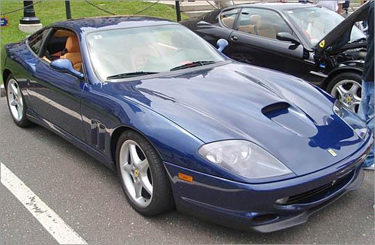 1998 Ferrari 550 Maranello.