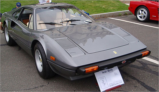 A 1976 Ferrari 308 GTB with a fiberglass body, one of only 100 imported into the U.S. And here I thought only Don Johnson drove a fiberglass Ferrari .