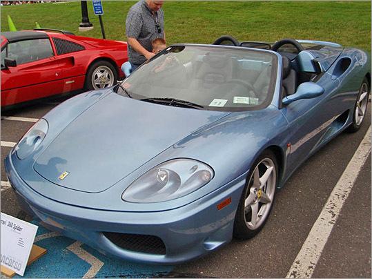 2002 Ferrari 360 Spider.