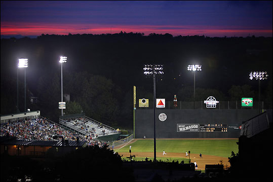 Red Sox hopefuls hope for their best all summer long at Hadlock Field, home to the Portland Sea Dogs . Tickets down low cost $9, and home and visiting player