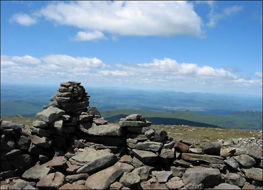 If you're ready for a step up, then head to the western edge of New Hampshire and climb Mount Moosilauke , where views carry into Vermont's Green Moun