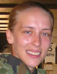 Angela Peacock spent years with no home after serving in Iraq.