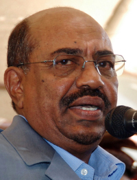 Omar al-Bashir was charged with war crimes in March.
