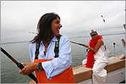 Girls Only: A fishing trip for Boston chefs