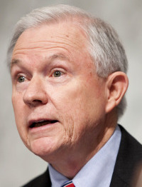 Senator Jeff Sessions said some rulings troubled him.