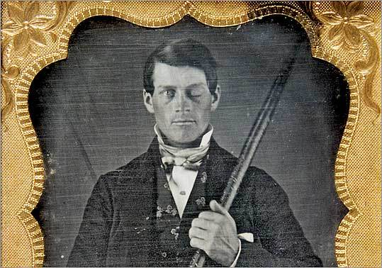 For decades, neurological and psychological researchers have been intrigued by the case of Phineas Gage. Now, scientists believe they have discovered an image of him taken in the mid-19th century. They say he is holding the 3-foot piece of iron that rocketed through his skull.