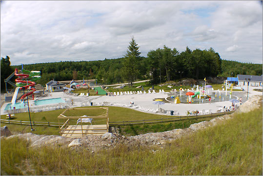 This park, just northeast of Manchester, N.H., expanded its attractions during the offseason, and now includes, in additions to its slides and pools, an all-natural sandy beach area, featuring more slides and attractions. Daily admission is $24 for adults, $19 for children under 48 inches tall. Season passes are also available for $60. 446 Raymond Road Candia, N.H. 603-483-2200 liquidplanetwaterpark.com