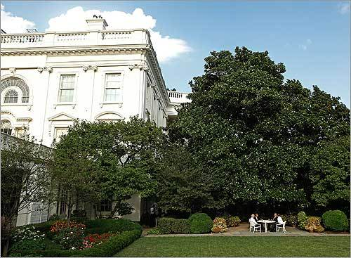 The meeting occurred shortly after 6 p.m. in the White House Rose Garden. Survey Who drank the best beer?