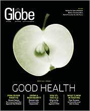 October 4 Globe Magazine cover