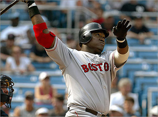 2003 Ortiz was a relative unknown in his six years in Minnesota -- the Red Sox brought him in to compete for a starting job, not hand him one -- but Ortiz had a productive season for Boston in 2003, hitting 31 home runs and driving in 101 runs in 128 games.
