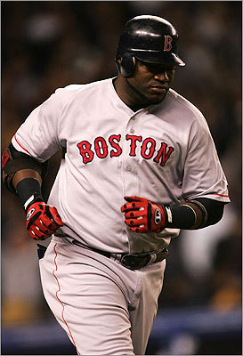 2004 playoffs Ortiz had a great 2004 season, but it was the postseason where he really starred. Ortiz hit .400 in the '04 playoffs with 5 home runs, 19 RBIs, and 13 walks.