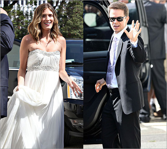 Mark Wahlberg and his girlfriend, model Rhea Durham, married in an intimate ceremony on August 1, 2009.