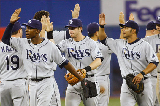 The last time the Red Sox played the Rays was way back on May 3 in St. Petersburg, where the Sox dropped three of four to the Rays. The Red Sox were 15-10 and behind the division-leading Blue Jays by 2 games. Tampa Bay at that point was 11-15.