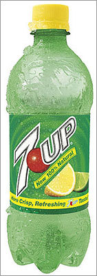 A 12-ounce 7-Up has 39 grams of sugar. The drink, however, contains no caffeine.