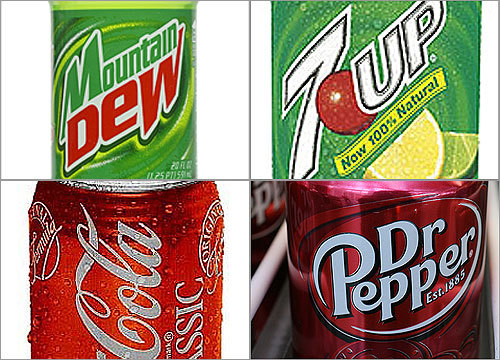 The cost of treating obesity in the United States has increased significantly in recent years. Some are blaming this problem on popular soft drinks and other sugar-sweet treats for this rise. That's because the average 12-oz soda has about 10.2 teaspoons of sugar in it. Take a look at how much sugar some of the nation's most ubiquitous brands contain.