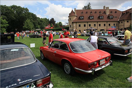 On Sunday, Aug. 2, the Larz Anderson Auto Museum in Brookline hosted its annual 'Tutto Italiano' car show, which as anyone can guess, features models from Italian marques like Ferrari, Lamborghini, Alfa Romeo, Maserati, and Fiat. About 100 classic and new Italians were on display (pictured are three Alfa Romeo Sprints), and photographer Gene Ritvo of the New England Motor Press Association was there to capture it. Have a look at his highlights.