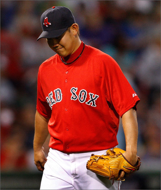 Remember when it seemed the Sox had an embarrassment of riches for their starting rotation? Feels like last season right about now, doesn't it? A quick recap of how it all has gone wrong behind Josh Beckett and Jon Lester: Daisuke Matsuzaka was painfully ineffective, Wakefield got hurt, Clay Buchholz has not translated his Triple A success to the majors, Penny is consistently inconsistent, Smoltz looks finished, Michael Bowden has hit a rough spot in Pawtucket . . . and that's how you end up with Traber throwing meaningful pitches at Yankee Stadium.