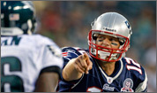 New England Patriots quarterback Tom Brady back in action in Philidelphia