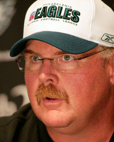 ANDY REID Moment of candor