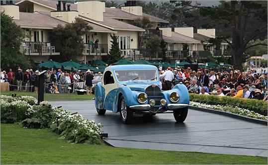 1936 Bugatti Type 57.